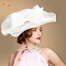 tea party hats exclusive sinamay hats large brim 21cm large three layers tea