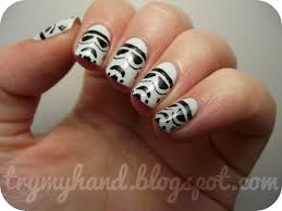 stormtrooper nail art google search awe stormtroopers
