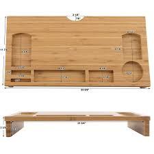 amazon black friday midi keyboards sale amazon com songmics bamboo monitor riser large size laptop tv