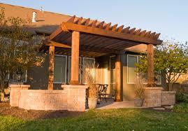 Design A Pergola by Deck With A Pergola Deck Design And Ideas