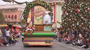 disneyland holiday season u0027a christmas fantasy u0027 parade begin