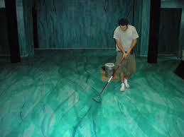 Concrete Floor Sweeping Compound by In The Paint Stage Directions
