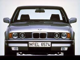 bmw 5 series e34 history and technical characteristics