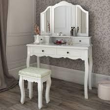 mirrored bedroom vanity table white dressing room bedroom vanity make up table desk dressing
