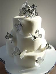 butterfly cake toppers butterfly wedding cakes