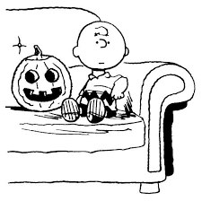 halloween coloring pages peanuts charlie brown coloring