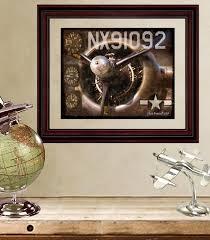 Aviation Home Decor Fine Art Print Vintage Wwii Airplane Propeller