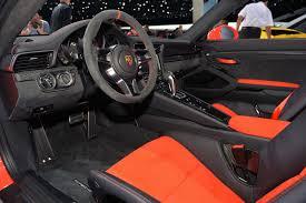 new porsche 911 interior 2015 geneva motor show 2016 porsche 911 gt3 rs sssupersports com