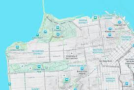Cal State East Bay Map by Walkabout Map Style Mapzen