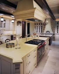 Counter Height Kitchen Island - denver kitchen island stove traditional with hood distressed
