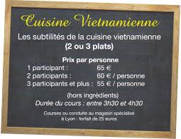 cours cuisine vietnamienne cours de cuisine en passant par les bases de la cuisine la gastro