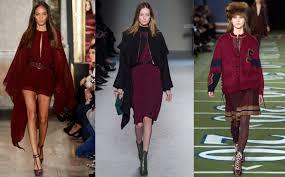 2017 Fashion Color Winter 2016 Fashion Color Trends Vogue It