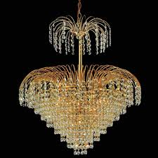 Crystal And Gold Chandelier Brizzo Lighting Stores 24