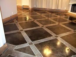 basement floor sealing paint indoor concrete gallery interior