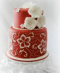 Wedding Cake Flower Brush Embroidery Cake Flowers And Template Ideas
