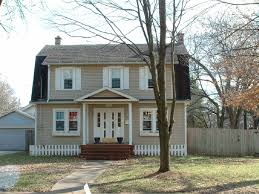 colonial revival exterior paint colors so replica houses