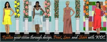 wedding dress creator wedding dress design