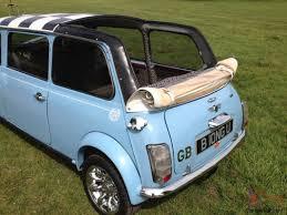 Custom Classic Mini Interior Classic Mini Limousine Custom Made Modified Cooper One Off