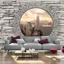 wallpaper xxl non woven huge photo mural stone brick new york city wallpaper xxl non woven huge photo mural stone