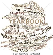 yearbook search free abstract word cloud for yearbook with related tags and terms stock