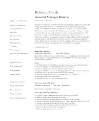 retail management resume retail management resume template manager resumes assistant