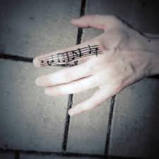 microphone tattoo thumb 40 simple music tattoos for men musical ink design ideas