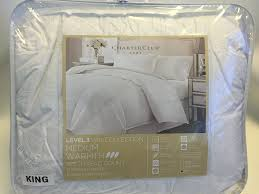 King Down Blanket Amazon Com Charter Club Vail Collection 325t Medium Warmth Down