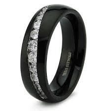 black wedding ring mens black wedding rings wedding corners