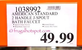 Costco Bathroom Faucets by Costco Sale American Standard Devonport Bath Faucet 39 99