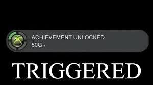 triggered achievement unlocked meme on memegen