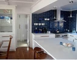 blue tile kitchen backsplash amazing kitchen backsplash blue subway tile