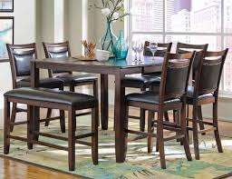Coaster Dining Room Chairs Coaster Dupree 8 Counter Height Dining Room Set In