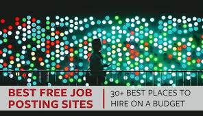 Posting Resume Online by 30 Free Job Posting Sites To Hire On A Budget