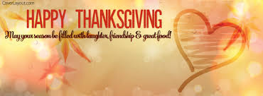 happy thanksgiving laughter friendship great food cover