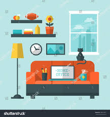 home interior design vector decohome