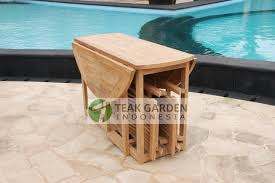Folding Patio Table And Chair Set Impressive Folding Outdoor Table And Chairs Teak Garden Furniture