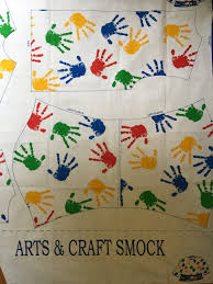 vintage fabric panel cotton material sewing project for kids art