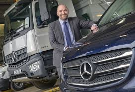 future mercedes truck james goes u0027back to the future u0027 with mercedes benz dealer euro