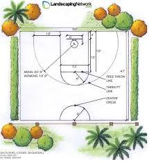 Backyard Sports Court by 25 Best Backyard Basketball Court Ideas On Pinterest Backyard