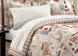 bedding set nautical bedding sets effortlessly bed linen sets