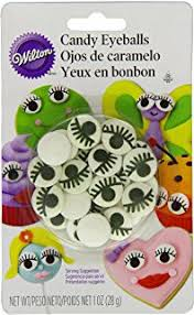 Where Can I Buy Christmas Cake Decorations Amazon Com Wilton Candy Eyeballs 0 88 Ounce Count Of 50 Candy