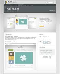 40 creative portfolio website psd templates