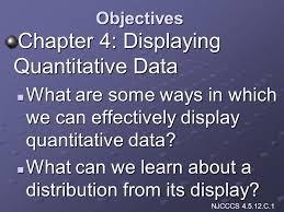 chapter 4 displaying quantitative data ppt video online download