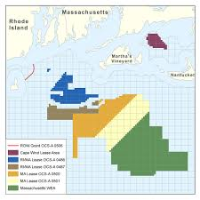 Massachusetts State Map by Massachusetts Activities Boem