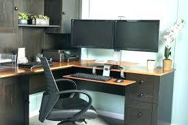 computer desk for 2 monitors 3 monitor computer desk dual monitor desk dual monitor computer