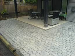 Diy Patio With Pavers Concrete Patio Cost Diy Home Outdoor Decoration