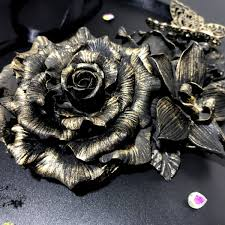 black rose necklace images Black rose necklace agata luxury tiaras jpg