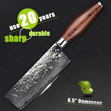 quality kitchen knives aliexpress com buy haoye 6 5 inch damascus vegetable knife