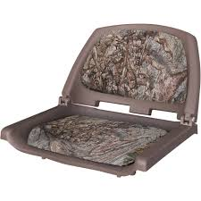 wise cordura camo fabric thick foam cushions injection molded seat