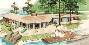 mid century modern vacation home plans aframes house by populuxe